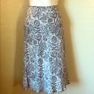F&F Black and White Skirt Size 14